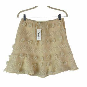 *NEW SIMPLEE Junior's Knit A Line Skirt
